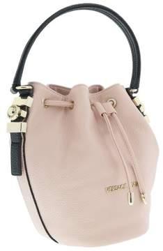 Versace EE1VRBBH7 Soft Pink Crossbody Bucket Bag