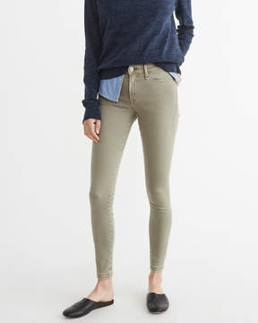 Abercrombie & Fitch Low-Rise Super Skinny Jeans