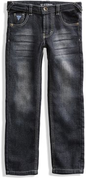 GUESS Slim-Fit Fleece Jeans (2-6x)