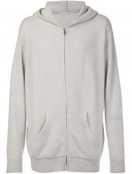 The Elder Statesman cashmere zipped hoodie