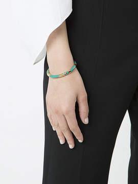 Aurelie Bidermann Striped cuff bracelet