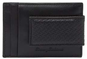 Tommy Bahama Brush Off Leather Magnetic Money Clip Wallet