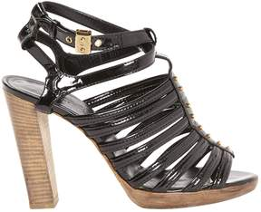 Hermes Patent leather sandal
