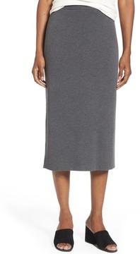 Eileen Fisher Women's Wool Knit Pencil Skirt