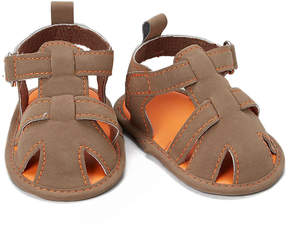 Luvable Friends Tan Fisherman Sandal - Boys