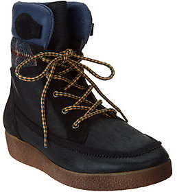 Coolway Brody Leather Lace Up Boots