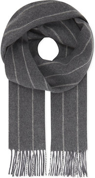 Eton Tasselled wool scarf