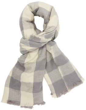 Charlotte Russe Check Pattern Woven Blanket Scarf