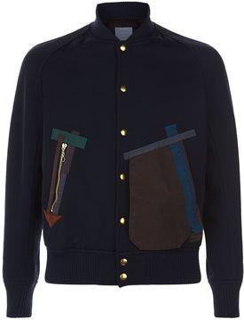 Kolor Patckwork Bomber Jacket