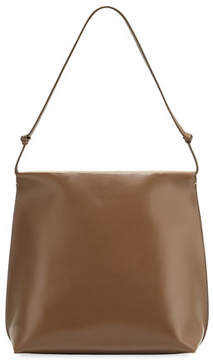 The Row Wander Knotted Leather Shoulder Bag