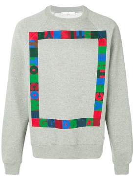 Golden Goose Deluxe Brand pixel printed sweatshirt