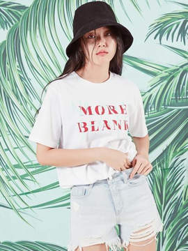 Blank [unisex] MORE T-WH