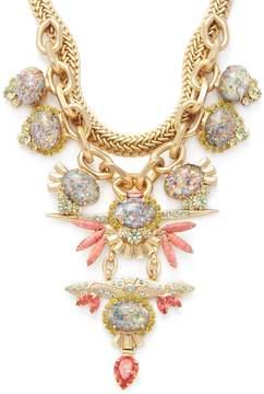 Elizabeth Cole Women's Victoria Pyrite Statement Necklace