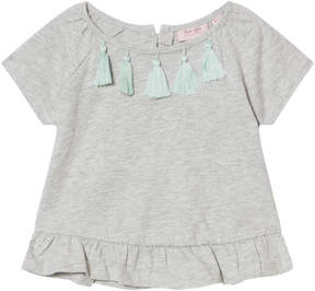 Mini A Ture Noa Noa Miniature Grey Short Sleeve T-Shirt
