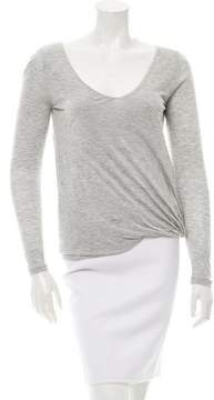 Vanessa Bruno Knit V-Neck Top