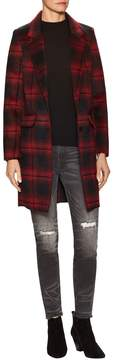 Eleven Paris Women's Tableau Plaid Coat