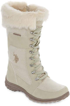 U.S. Polo Assn. Valley Womens Lace Up Boots
