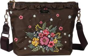 Nicole Lee Adira Embroidery Garden Mini Cross Body Bag (Women's)