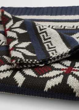 Mango Outlet Fair isle scarf