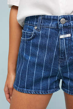Closed Leni High-Rise Striped Denim Shorts