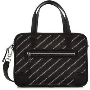 Karl Lagerfeld K/Stripe Logo Bowling Bag