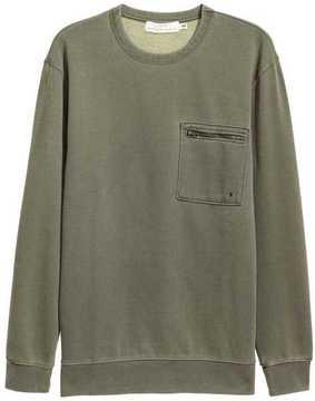 H&M Sweatshirt with Chest Pocket