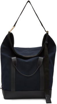 Sacai Navy Laundry Travel Bag