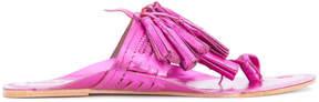 Figue Metallic Scaramouche sandals