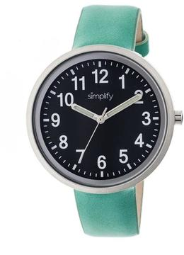 Simplify The 2600 Collection SIM2605 Unisex Watch with Leather Strap