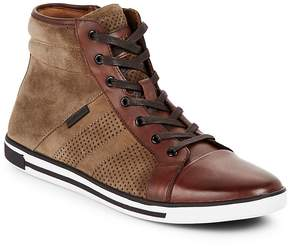 Kenneth Cole Men's High-Top Leather Sneakers
