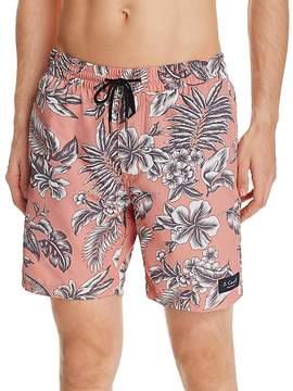 Barney Cools B.Cools Floral Amphibious Swim Trunks