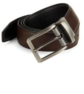 Black & Brown Black Brown Classic Leather Belt