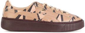 Puma Cheetah graphic platform sneakers