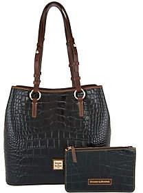 Dooney & Bourke Croco Leather Shoulder Bag