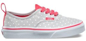 Vans Kids Micro Heart Authentic Elastic Lace