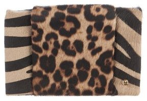 Halston Heritage Ponyhair Wallet On Chain
