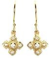 Gemma Collection Byzantine Cross Earrings