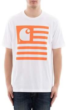 Junya Watanabe Men's White Cotton T-shirt.