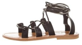 K Jacques St Tropez Lascaux Lace-Up Sandals w/ Tags
