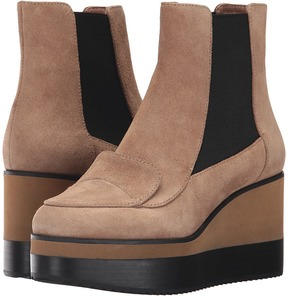 Jil Sander Navy JN29081 Women's Wedge Shoes