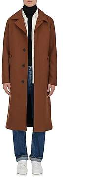 Ami Alexandre Mattiussi Men's Wool-Blend Belted Trench Coat