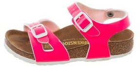 Birkenstock Girls' Rio Crossover Sandals