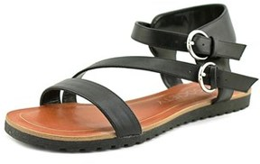 Sole Society Sura Round Toe Synthetic Slingback Sandal.