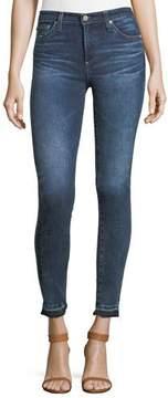 AG Jeans Released Hem Super-Skinny Ankle Jeans