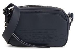 Allsaints Small Cooper Calfskin Leather Shoulder Bag - Blue