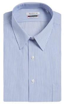 Van Heusen Pinstripe Cotton Dress Shirt