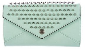 Rebecca Minkoff Studded Wallet On Chain w/ Tags - GREEN - STYLE