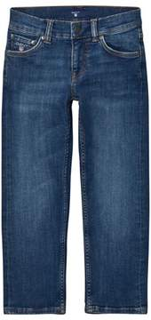 Gant Blue Mid Wash Slim Jeans