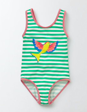 Boden Printed Swimsuit