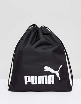 Puma Phase Gymsack In Black 7494301